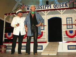 "2005 - Kapitän in ""Mississippi Queen"""